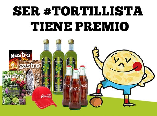 Los ganadores del concurso #tortillista