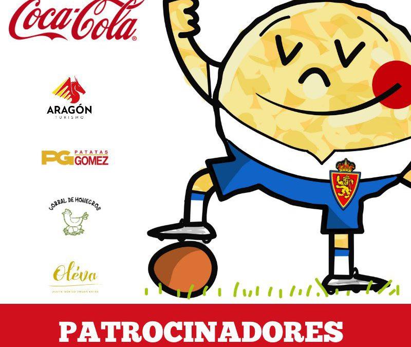 Patrocinadores de la IV edición de La Liga de la Tortilla