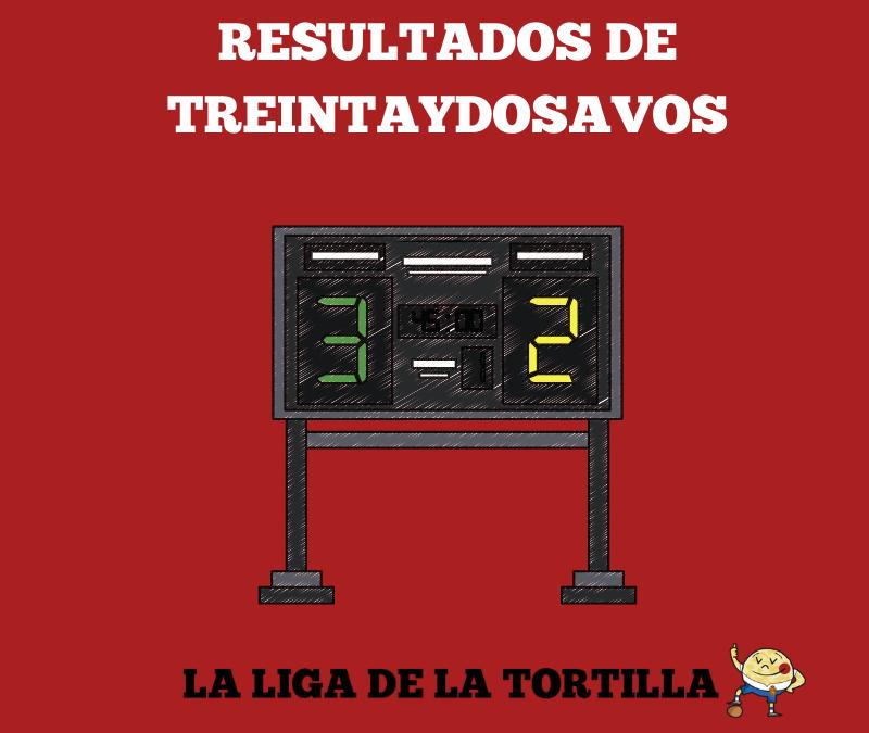 Ganadores de la primera ronda de la liga de la tortilla 2018