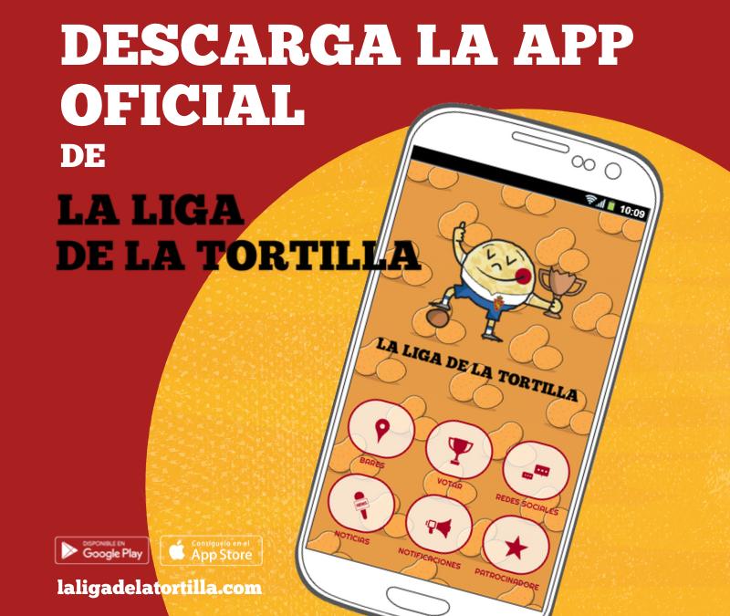 Cómo votar en La liga de la tortilla 2019: la app oficial del concurso.